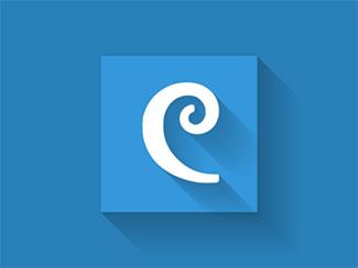 Designmodo logo with l...