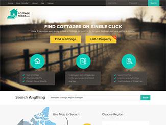 CottagePages.com websi...