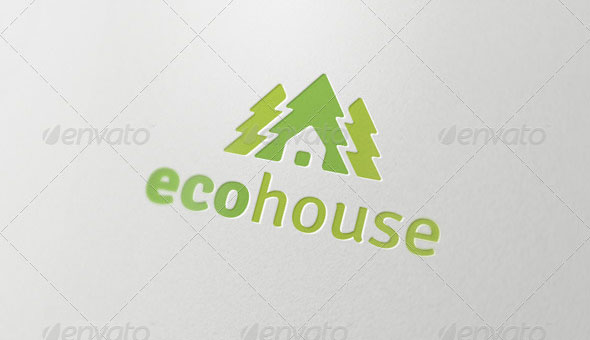 Eco House - Logo Template