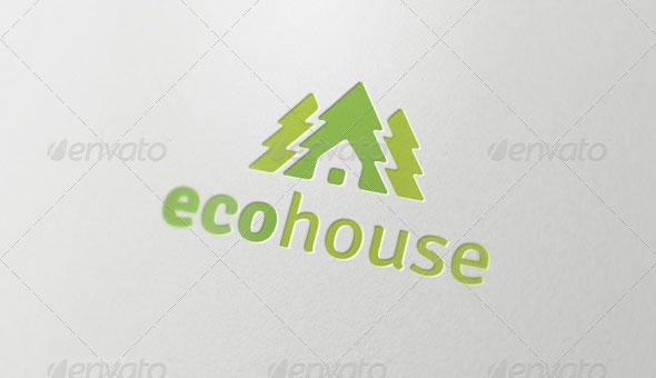 Eco House - Logo Template