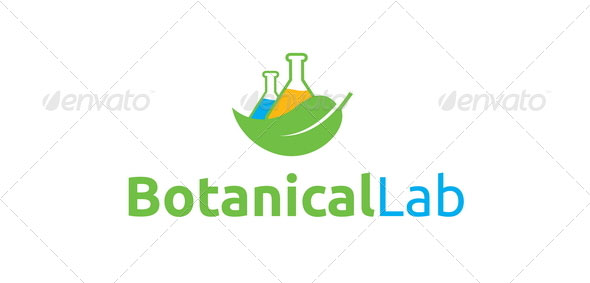 Botanical Lab Logo Template
