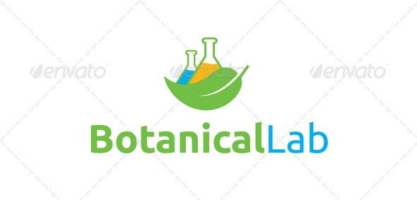 Botanical Lab Logo Template
