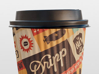 Dripp Hot Paper Cup