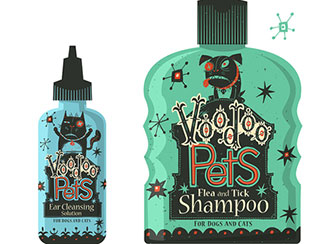 Voodoo Pets - packaging