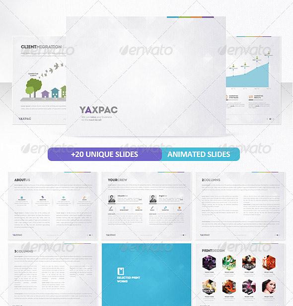 Yaxpac PowerPoint Presentation Template
