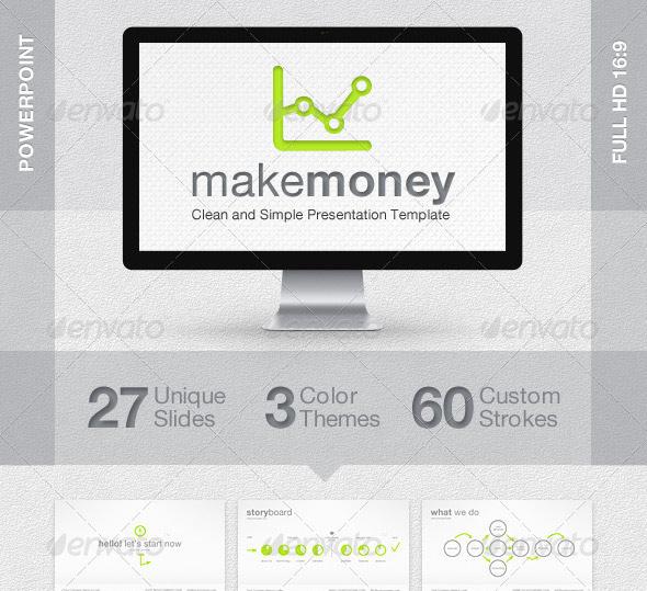 MakeMoney Powerpoint Presentation Template