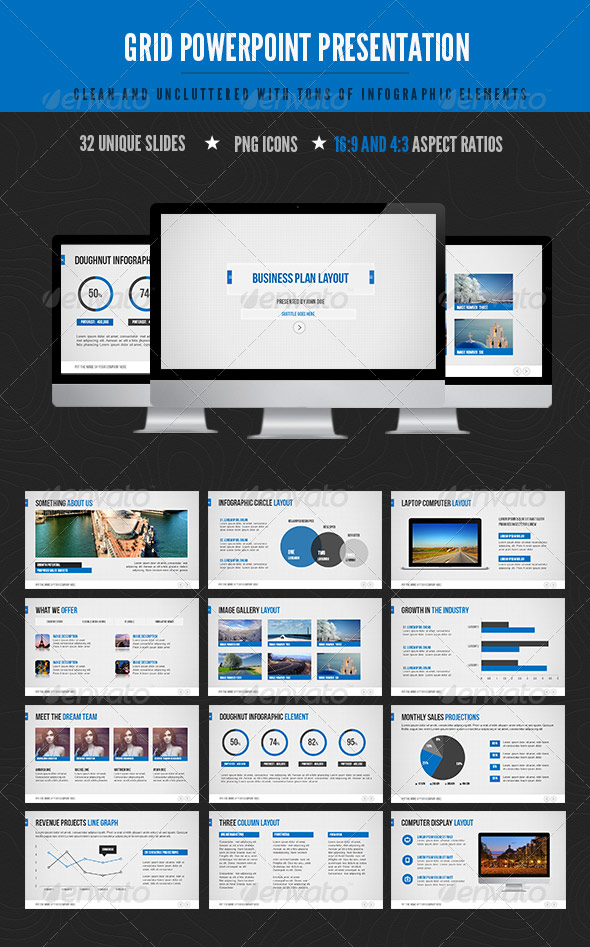 25 creatively designed powerpoint templates web graphic design grid powerpoint toneelgroepblik Images