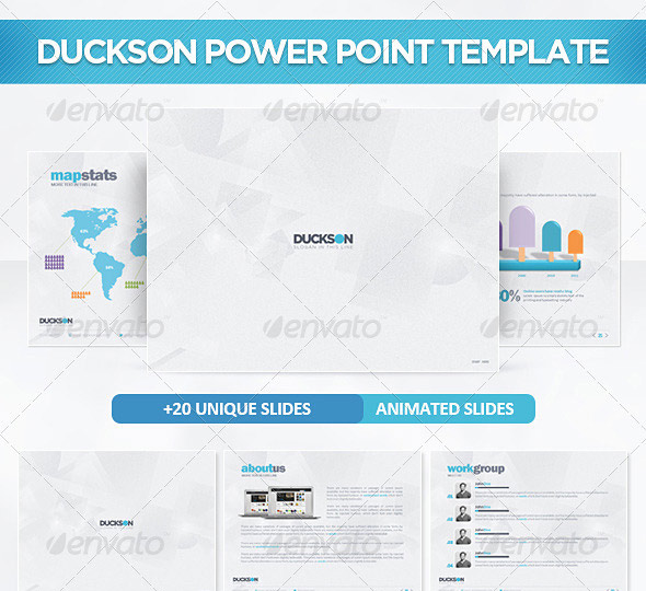 Duckson PowerPoint Presentation Template