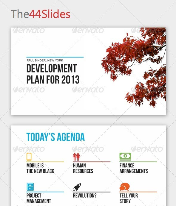The44Slides Powerpoint Template