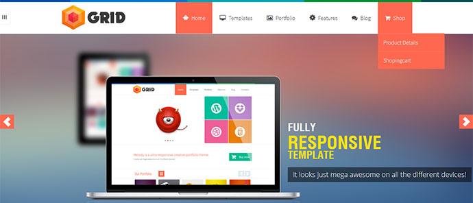 105 Free Premium Responsive Portfolio Website Templates Bashooka