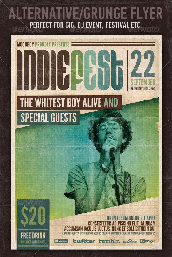 Indie Fest Flyer/Poster