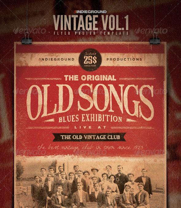 Vintage Flyer/Poster