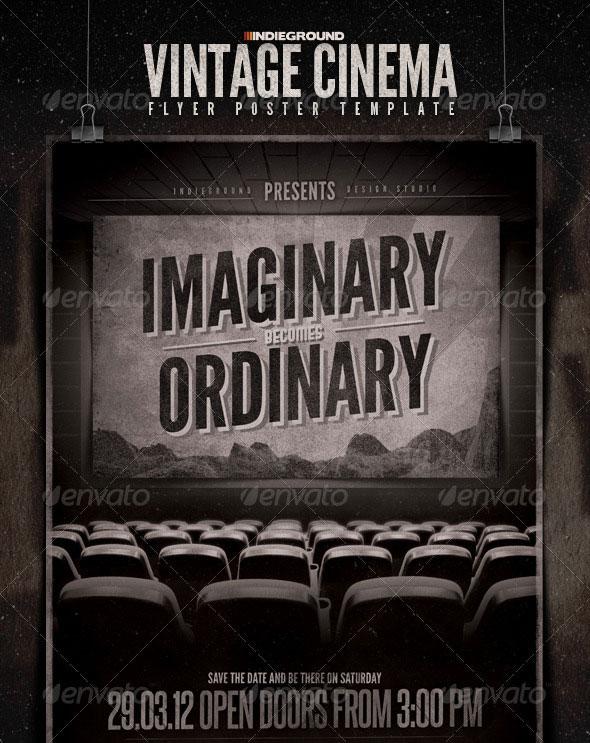 Vintage Cinema Flyer/Poster