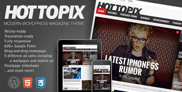 50+ Modern Responsive Magazine WordPress Themes – Bashooka