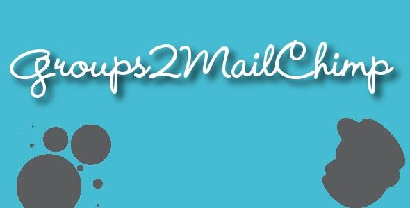 Groups2Mailchimp