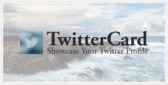 TwitterCard