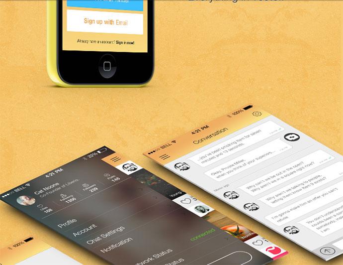 Flat-Mobile-App