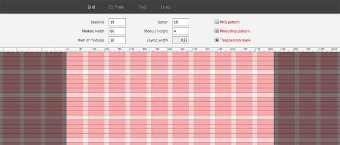 Css Amp Psd Grid Layout Generators Web Amp Graphic Design