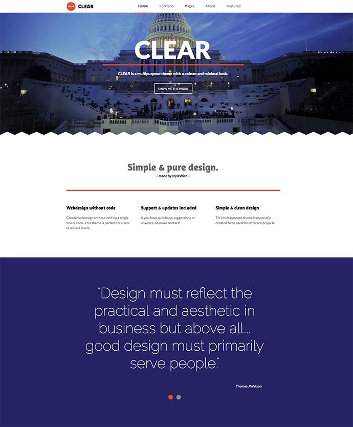35 Professionally Designed Adobe Muse Templates – Bashooka