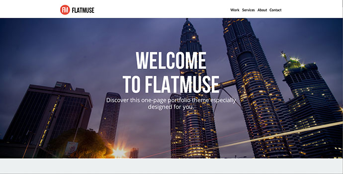 35 Professionally Designed Adobe Muse Templates – Bashooka