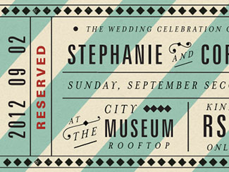 Atop the City RSVP ticket