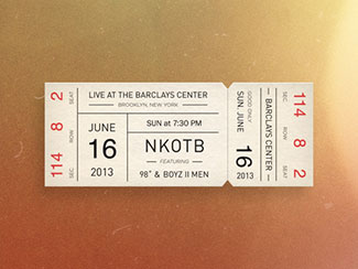 40 Eye-Catchy Ticket Designs | Web & Graphic Design | Bashooka