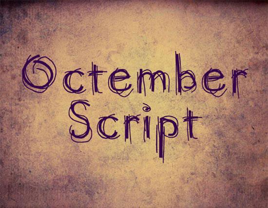 Octember Script