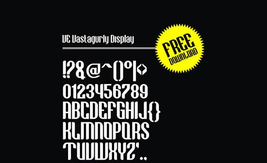 Vastagurly Font