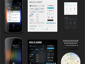 Freebie PSD: Android 4