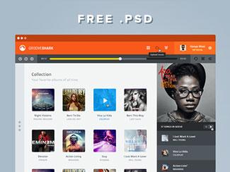Grooveshark PSD
