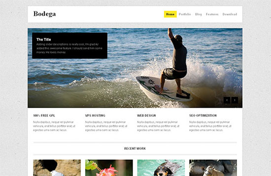 Bodega Free WordPress Business & Portfolio Theme