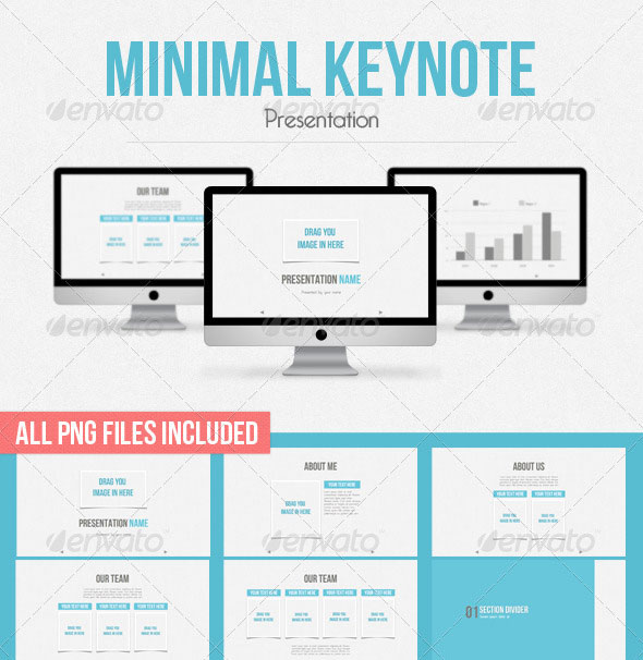 30 beautifully designed keynote themes | web & graphic design, Presentation templates