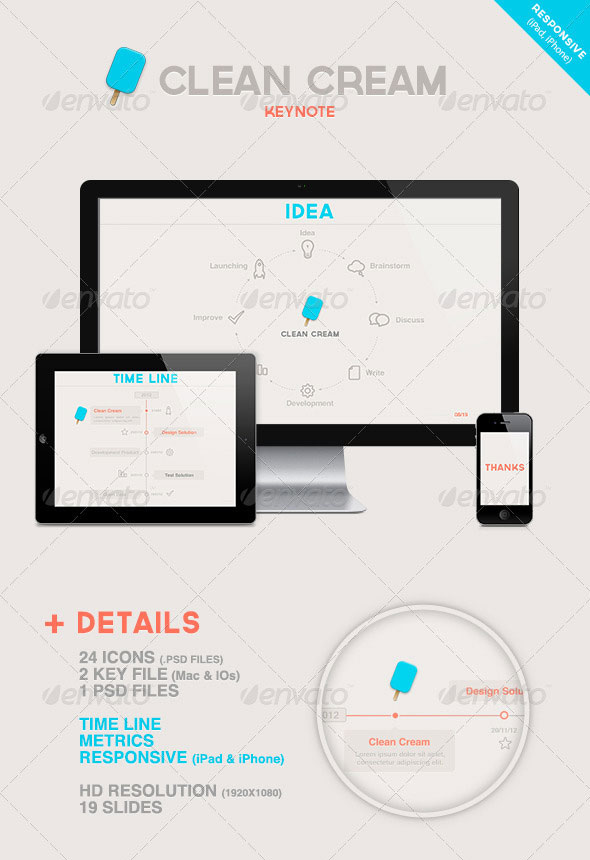 Beautifully Designed Keynote Themes  Web  Graphic Design  Bashooka