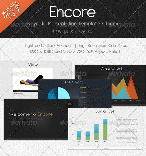 Encore Keynote Presentation Template
