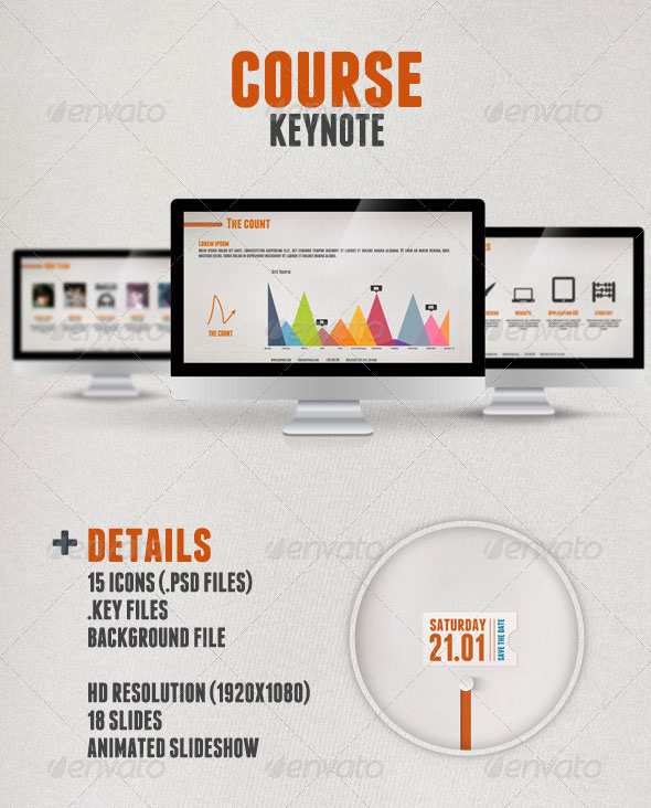 Beautifully Designed Keynote Themes  Web  Graphic Design