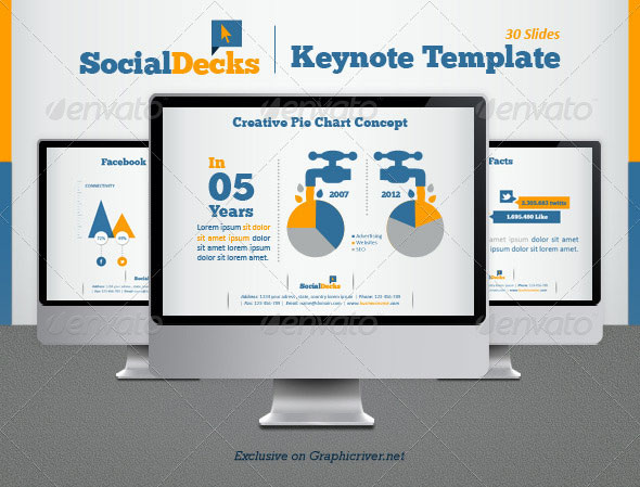 30 beautifully designed keynote themes web graphic design bashooka