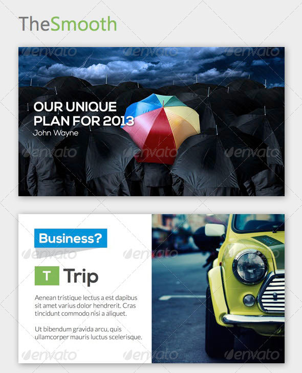 TheSmooth Keynote Template
