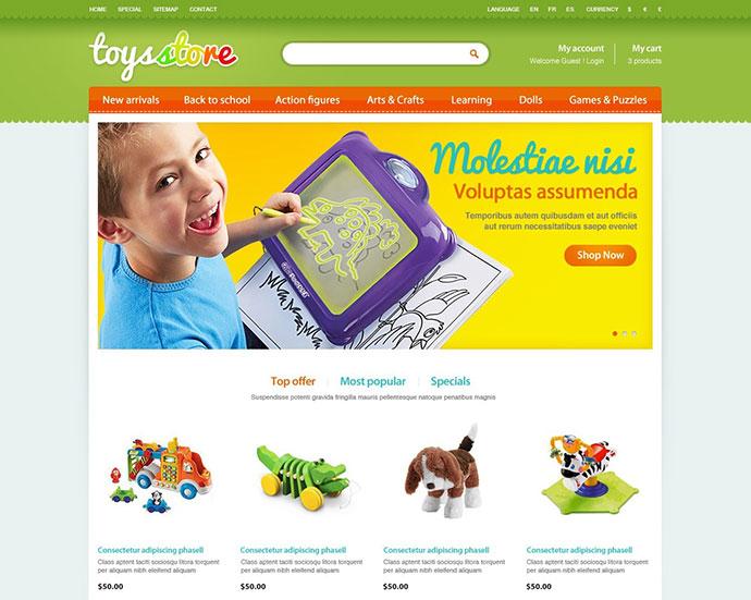 ET Toys Store
