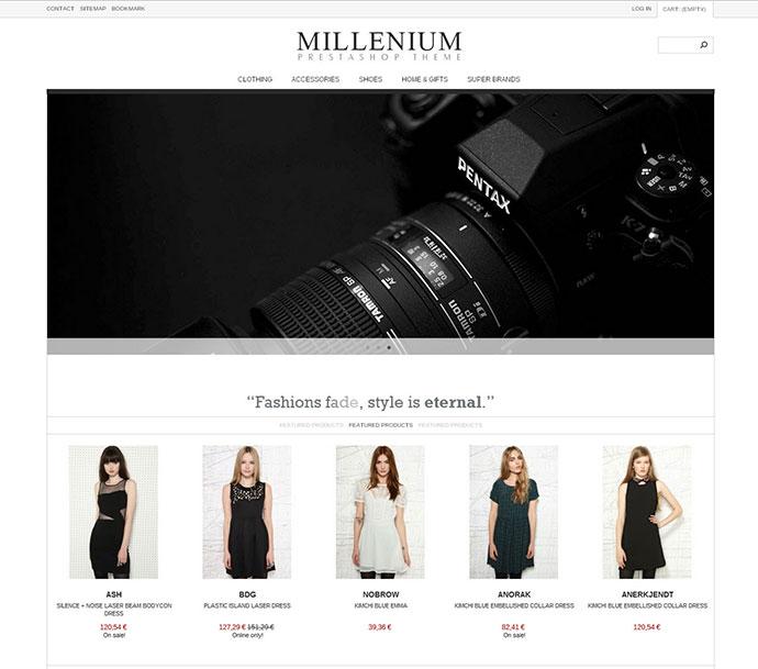 Millenium – Responsive Prestashop 1.5 Theme