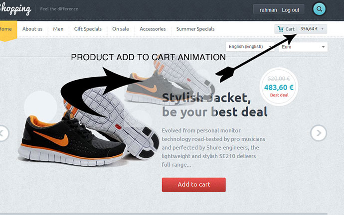 Shopping Ecommerce Prestahop Theme