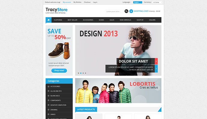 Leo Tracy Prestashop Theme