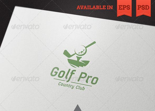 Golf Pro Logo Template