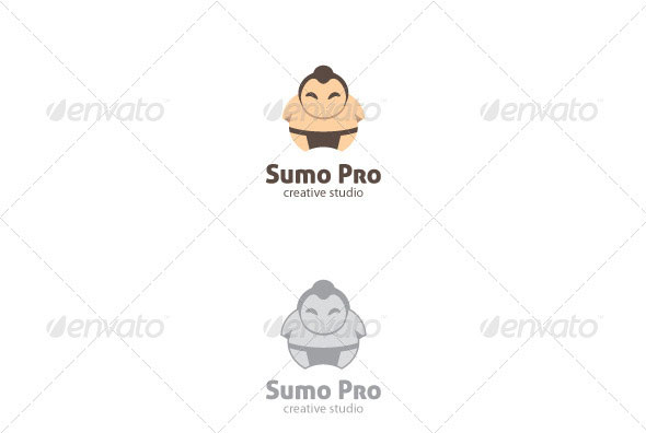 Sumo Pro Logo Template