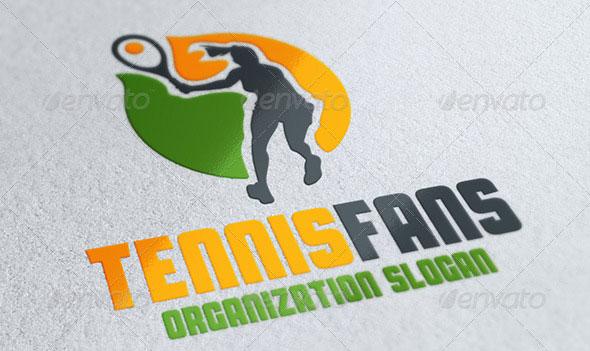 Tennis Fans Logo