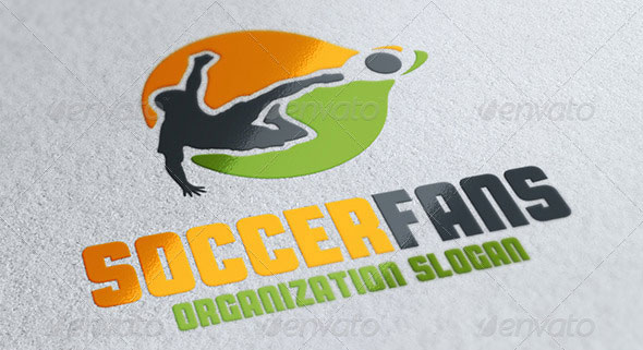 Soccer Fans Logo