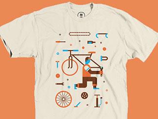 Bike Parts Tee