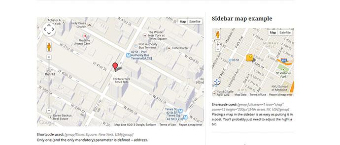9 WordPress Google Map Plugins | Web & Graphic Design | Bashooka