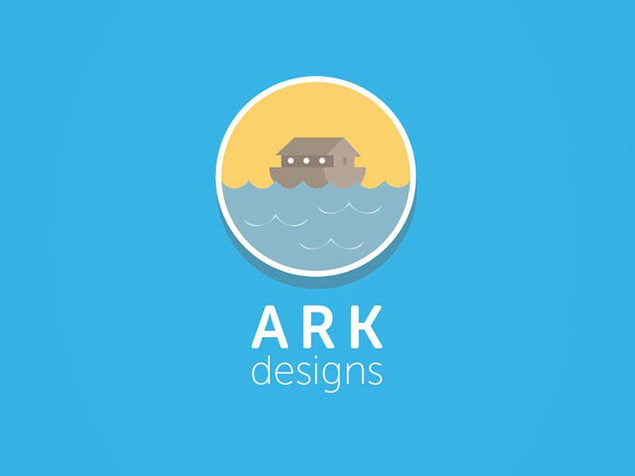 38 modern flat logo designs inspiration  u2013 web  u0026 graphic