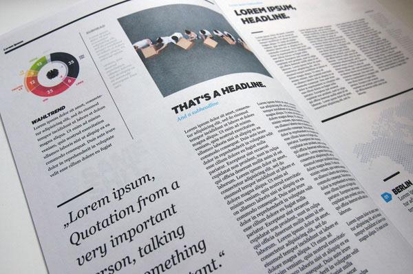 Magazine Infographics