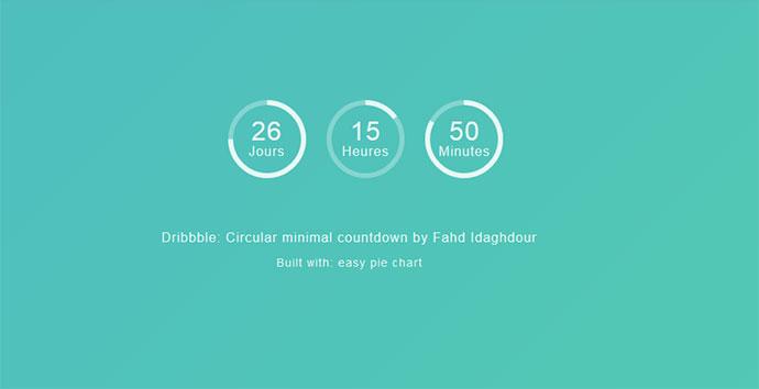 15 jQuery & CSS3 Countdown Timer Scripts – Bashooka